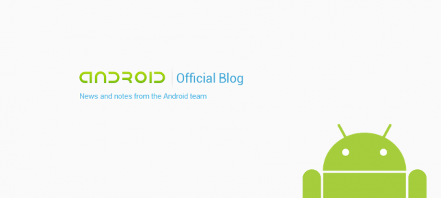 Android : Blog officiel