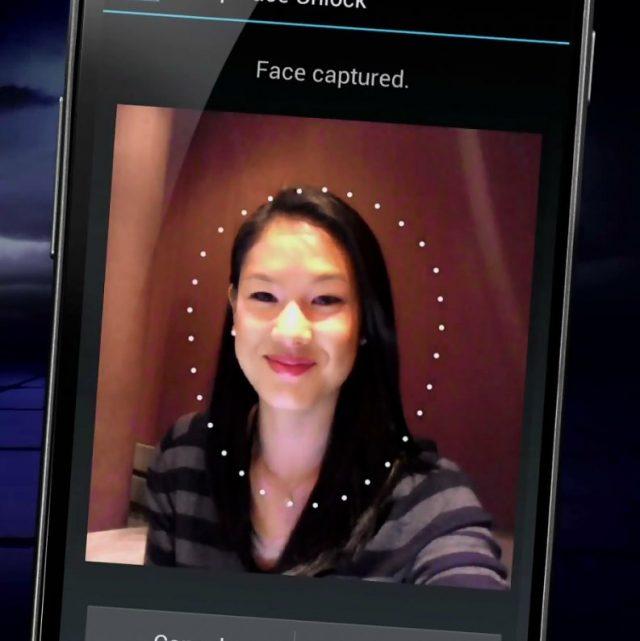 Android : Déverrouillage par visage