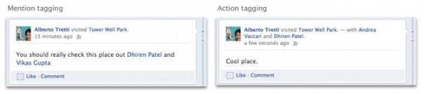 Facebook Open Graph : Tagging