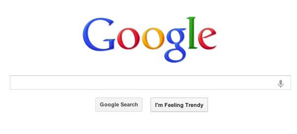 Google : Le bouton «J'ai de la chance» s'anime