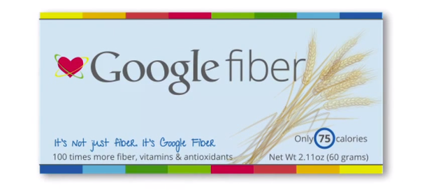 Google Fiber Bar : Vitamines & antioxydants pour seulement 75 calories