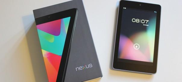 Google Nexus 7 : Présentation vidéo de la tablette tactile
