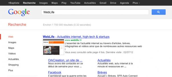 Google : Les SERPS de 7 résultats explosent