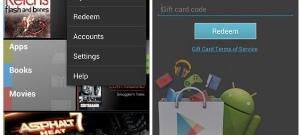 Google Play : Vers l'ajout de codes de réduction et de wishlist ?