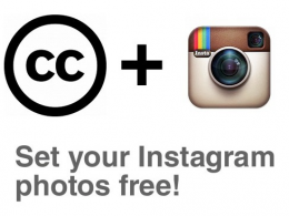 Instagram : Licences Creative Commons