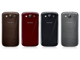 Samsung Galaxy S III : Nouvelles couleurs