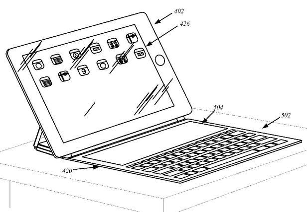 Brevet Apple : Ecran intégré à la Smartcover
