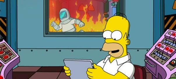 Wou pinaise, les Simpsons débarquent sur iPad !