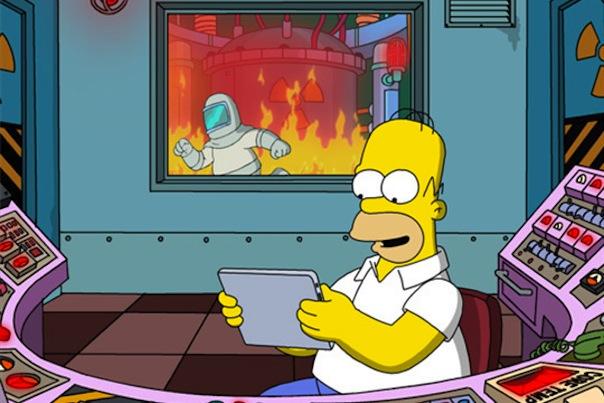 Simpson : Le jeu iPad