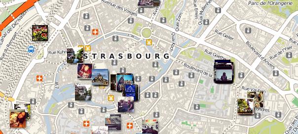 Streetgram : Photos Instagram dans votre ville
