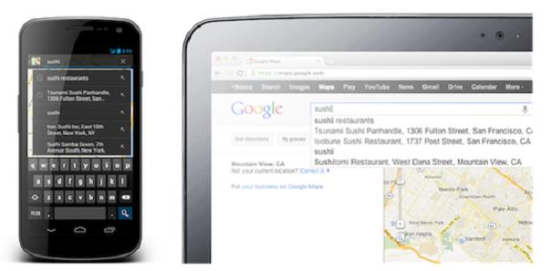 Google Maps : Synchronisation des cartes