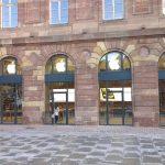 Apple Store Strasbourg : Facade de la boutique