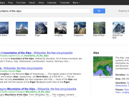 Google Knowledge Graph : Carrousel