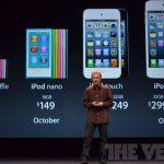 Prix Nouveaux iPod