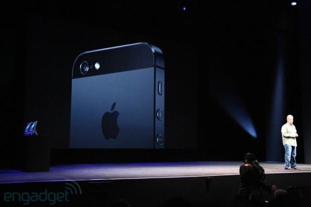 iPhone 5 : Vue arrière
