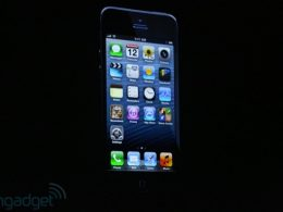 iPhone 5 : Vue devant