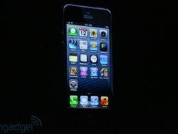 iPhone 5 : Vue devant