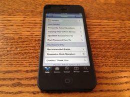 iPhone 5 : Jailbreak