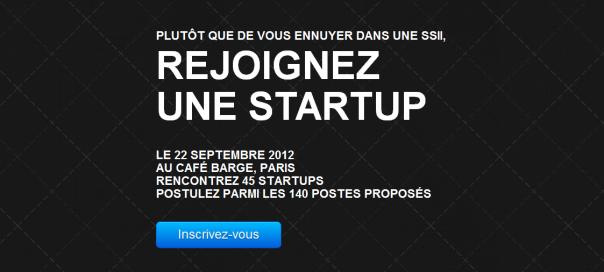 Rejoignez Une Startup