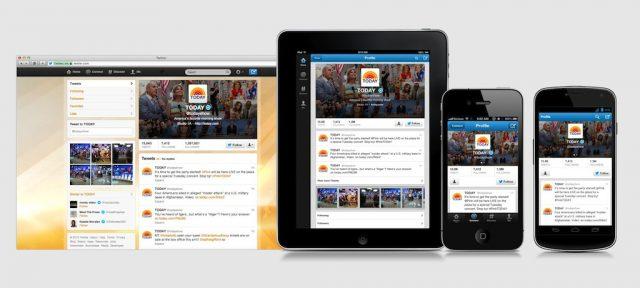 Twitter : Interface utilisateur web & mobile