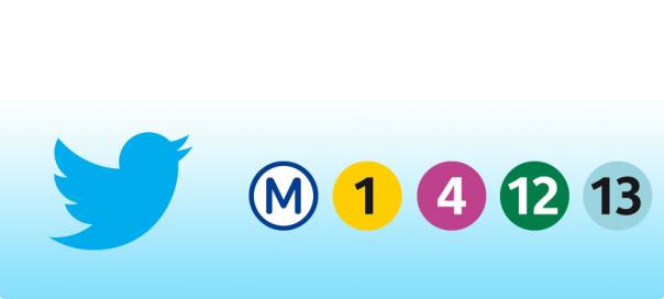 RATP : Info trafic en temps réel sur Twitter