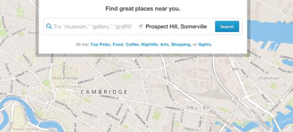 Foursquare : Un nouveau moteur de recommandations locales