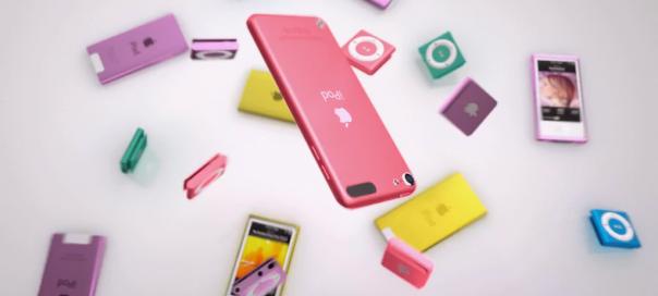 Apple : Nouveaux iPod Touch & Nano en pub vidéo