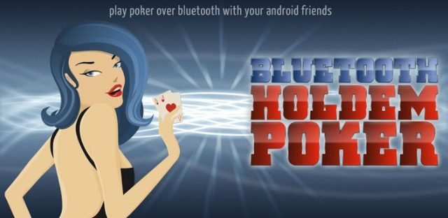 Bluetooth Holdem Poker