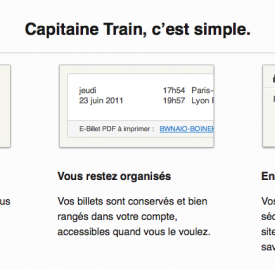 Capitaine Train : Achat de billets de train facile
