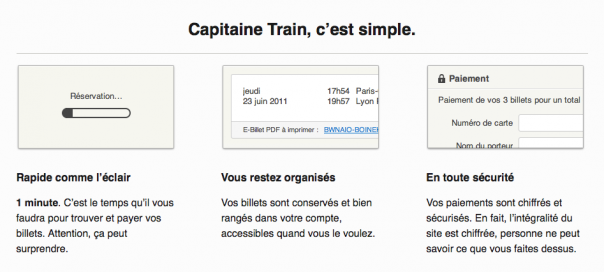 Capitaine Train : Achat de billets de train facile