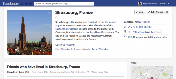 Facebook : Redesign de l'interface des pages orphelines