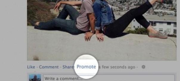 Facebook : Promouvoir ses publications/statuts