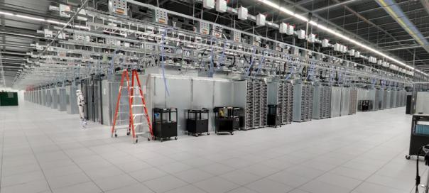 Google : Visiter les centres de données sécurisés