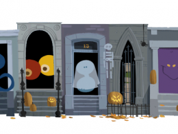 Google : Doodle Halloween 2012