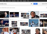 """Google Images : Mitt Romney sur la requête """"completely wrong"""""""