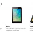 Google Nexus : Android 4.2, smartphone 4″ et tablettes 7″ et 10″