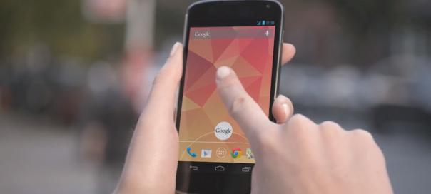 Google Nexus 4 : Le million d'unités vendues dépassé