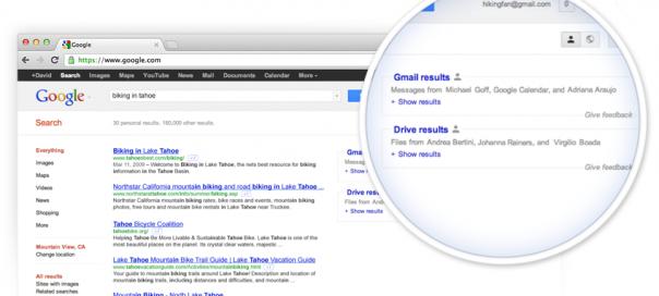 Google & Gmail : Recherche de documents sur Google Drive