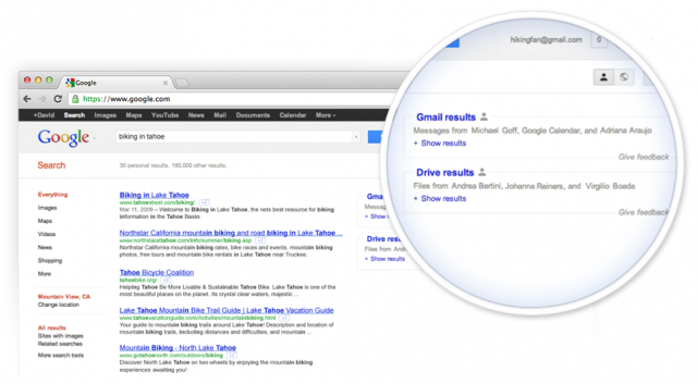 Google : Recherche dans Google Drive