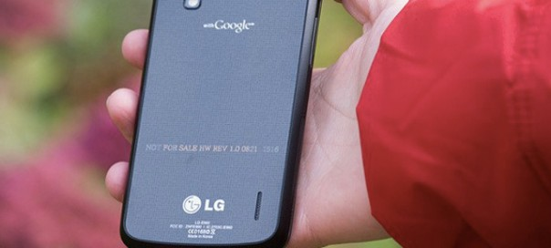 Rupture de stock Nexus 4 : Google accuse LG