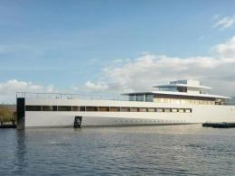 Steve Jobs : Yacht