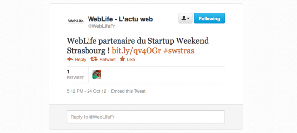 Twitter : Le lien Like remplace le Favori (Favorite) ?