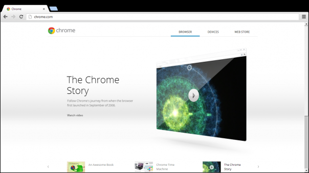 Windows 8 : Google Chrome
