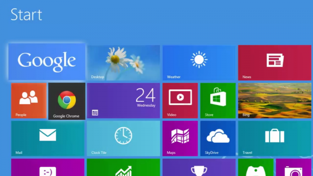 Windows 8 : Google & Google Chrome