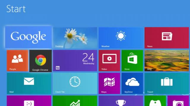 Windows 8 : Google & Google Chrome
