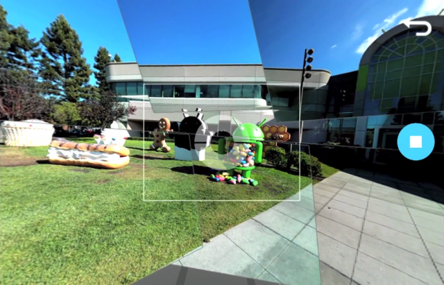 Android : Photo Sphere