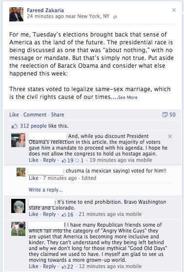 Facebook : Classement des commentaires