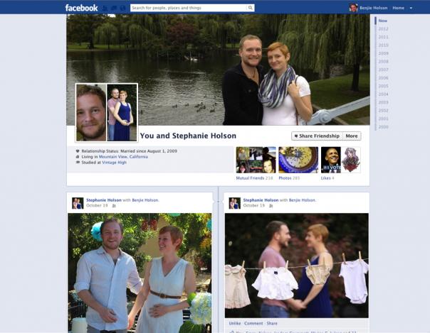 Facebook : Liens d'amitié