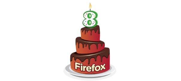 Firefox : Le navigateur internet fête ses 8 ans