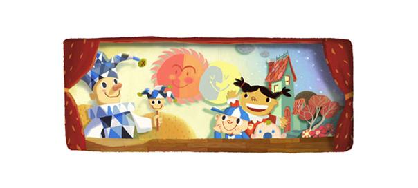 Google : Doodle de la journée mondiale de l'enfance